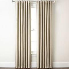 Eclipse® Fresno Rod-Pocket/Back-Tab Blackout Curtain Panel
