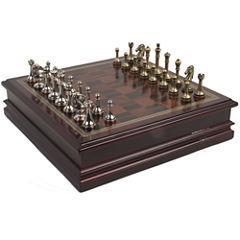 Deluxe Metal Chess Set