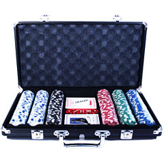 Heavy-Weight 300-pc. Poker Chip Set with Case