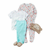 Carter's Girls 4-pc. Pant Set-Baby