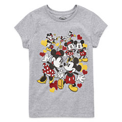 Disney Mickey and Friends Graphic T-Shirt-Big Kid Girls