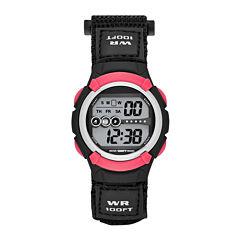 Womens Gray Nylon Strap Watch