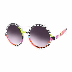City Streets Round Round UV Protection Sunglasses
