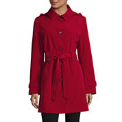 Gallery Hooded Belted Raincoat