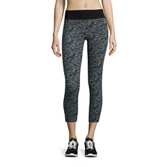 Flirtitude Jersey Workout Capris Juniors