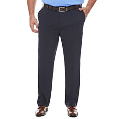 Men's Van Heusen Stretch Straight-Leg Flex Flat Front Pants-Big and Tall