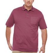 Van Heusen Short Sleeve Flex Stripe Polo Big and Tall