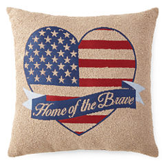 JCPenney Home™ Americana Home Of The Brave Pillow