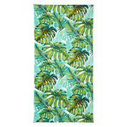 Outdoor Oasis Tropical Palm Printed Beach Towel