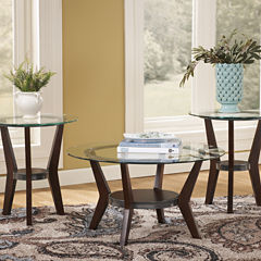 Signature Design by Ashley® Fantell 3pc Occasional Table Set Coffee Table Set