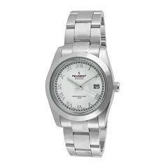 Peugeot® Womens Stainless Steel Bracelet Watch