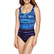 Robby Len By Longitude® Murano U-Back One-Piece Tank Swimsuit