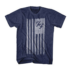 Foo Fighters Flag Short Sleeve T-Shirt