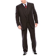 Stafford® Travel Charcoal Suit Separates - Big & Tall