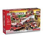 BricTek Fire Station Building Set with Sound & Light