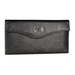 Buxton Heiress Leather Organizer Clutch Clutch Wallet