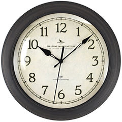 FirsTime® Slim Whisper Wall Clock