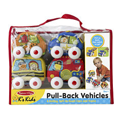Melissa & Doug® Pull-Back Vehicles