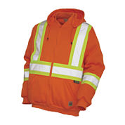 Work King High Visibility Hoodie Jacket