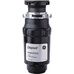 GE® 1/3 HP Continuous-Feed Garbage Disposer - Corded