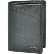 Levi's® Zippered Leather Tri-Fold Wallet