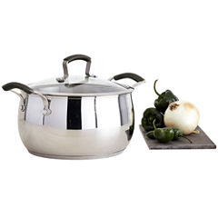 Epicurious® 6-qt. Stainless Steel Chili Pot with Lid