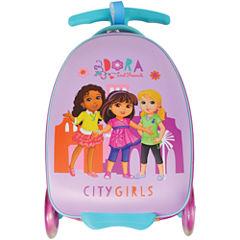 Nickelodeon Dora City Girls Dora the Explorer Hardside Luggage