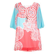 by&by girl Shift Dress - Big Kid and Plus