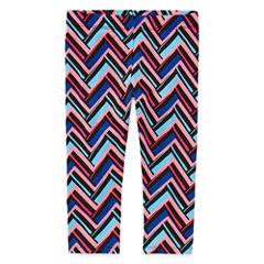 Total Girl Knit Capri Leggings - Preschool Girls