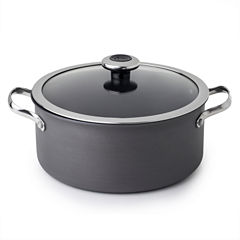 Revere Clean Pan 5 Qt Aluminum Hard Anodized Non-Stick Dutch Oven