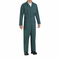 Red Kap Long Sleeve Action Back Coverall Big and Tall