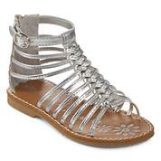 Okie Dokie® Gabby Girls Gladiator Sandals - Toddler