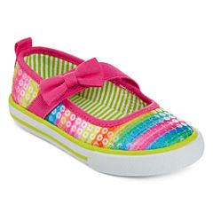 Okie Dokie® Bessie Girls Bumptoe Shoes - Toddler