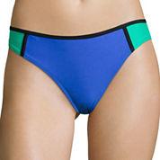 Arizona Colorblock Hipster Swim Bottom - Juniors