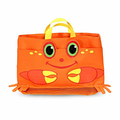 Melissa & Doug® Clicker Crab Beach Tote Bag