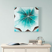 Intelligent Design Cool Gem Gel Coat Canvas Art