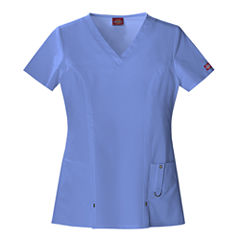 Dickies® Womens V-Neck Scrub Top