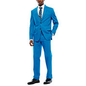 JF J. Ferrar® Mykonos Blue Stretch Sport Coat or Dress Pants - Slim Fit