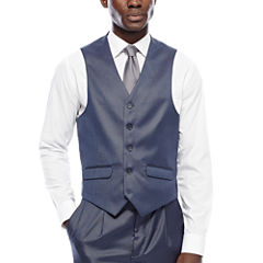 Steve Harvey® Blue Suit Vest