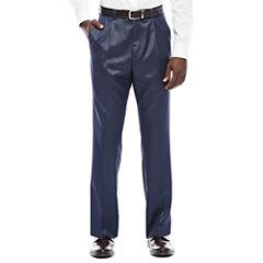 Steve Harvey® Blue Pleated Suit Pants