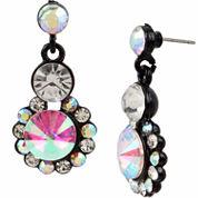 Bleu NYC Stone Cluster Drop Earrings