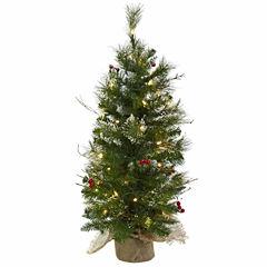 3' Berries Christmas Tree