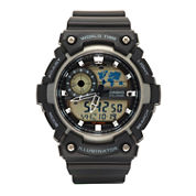 Casio Mens Black Strap Watch-Aeq200w-1av