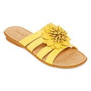 St. John's Bay® Uriel Slide Sandals