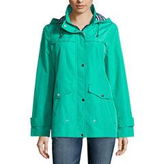Details Hooded Anorak Raincoat
