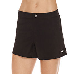 Speedo Solid Black Vapor PLUS Short