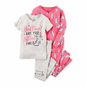 Carter's Girl 4pc PJ Set