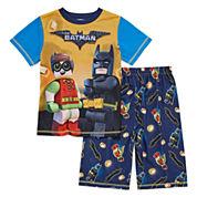 2-pc. Batman Short Sleeve-Big Kid Boys