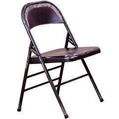 Bristow Steel Folding Chair Set of 2