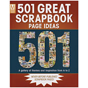 Memory Makers Books - 501 Great Scrapbook Page Ideas